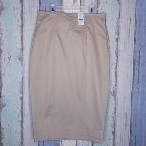 NWT New York & C 7th Avenue Straight Skirt Sz 6